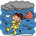 台風にも負けず!悪天候でも休講にせずレッスンを開講
