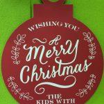 クリスマス会、午前は満員御礼、午後の部は空きがございます