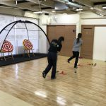 女子プロゴルファーへのトレーニング講習会